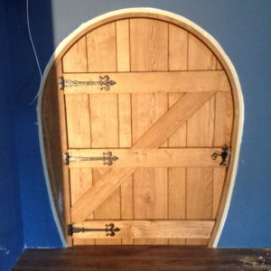 Hobbit door back